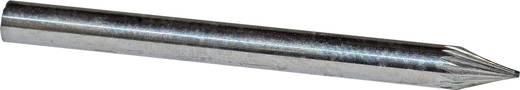 HM-Frässtift Spitzkegel 814552 Hartmetall Schaft-Ø 3.2 mm