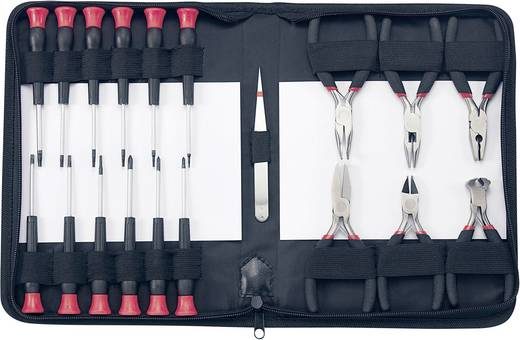 Elektriker Werkzeugset in Tasche 19teilig Basetech 814583