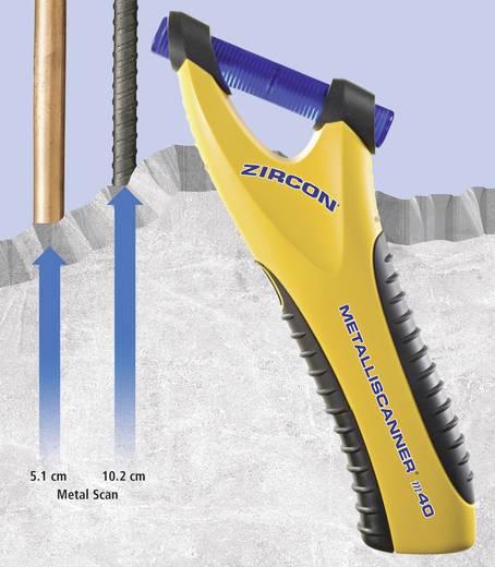 Ortungsgerät Zircon Metalliscanner M40 62616 Ortungstiefe (max.) 102 mm Geeignet für eisenhaltiges Metall, nicht eisenh