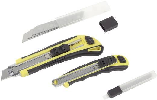 Universalmesserset mit Softgrip 2tlg. Cutter Messer
