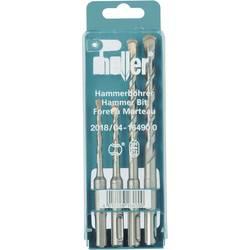 Sada kladivových vrtáků Heller SDS plus, 4dílná