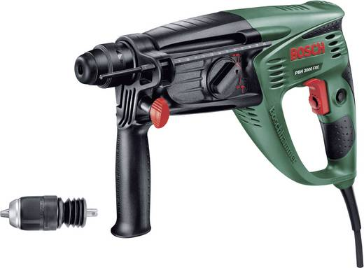 Bosch Home and Garden PBH 3000 FRE SDS-Plus-Bohrhammer 750 W inkl. Koffer