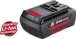 Náhradný akumulátor pre elektrické náradie, Bosch Accessories 2607336002, 36 V, 1.3 Ah, Li-Ion akumulátor