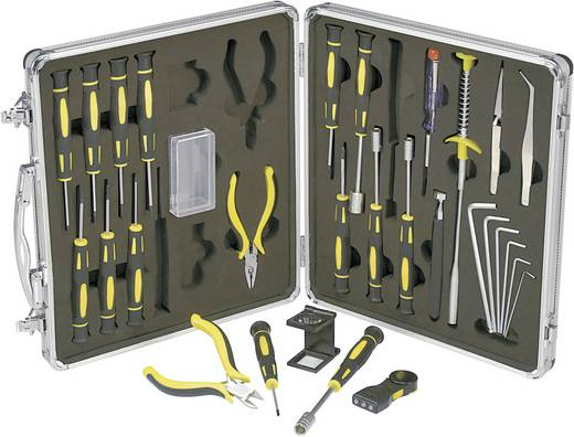 Basetech 814892 Elektriker Werkzeugset im Koffer 30teilig