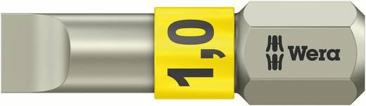 Schlitz-Bit 5.5 mm Wera 3800/1 TS 0,8 X 5,5 X 25 MM Edelstahl D 6.3 1 St.