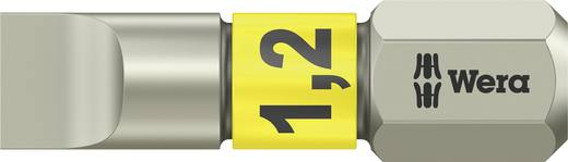 Schlitz-Bit 6.5 mm Wera 3800/1 TS 1,2 X 6,5 X 25 MM Edelstahl D 6.3 1 St.