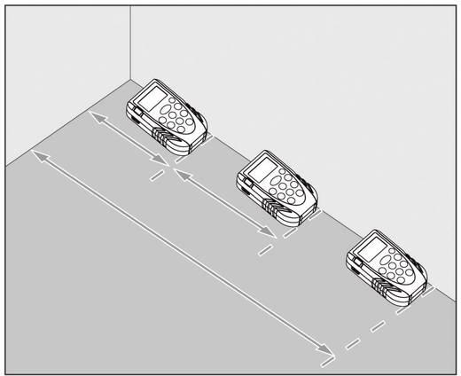 """TOOLCRAFT LDM 70 Laser-Entfernungsmesser Stativadapter 6.3 mm (1/4"""") Messbereich (max.) 70 m Kalibriert nach: Werksstandard"""