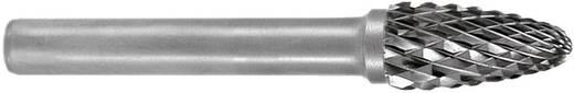 HM Frässtift Form F Rundbogen (RBF) RUKO 116033 Kugel-Durchmesser 12 mm Hartmetall Schaft-Ø 6 mm