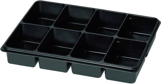 Sortimentskasten (L x B x H) 335 x 235 x 50 mm Anzahl Fächer: 8 feste Unterteilung