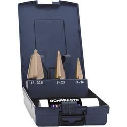Sada lúpacieho vrtáka Exact 50105, 3 - 14 mm, 4 - 20 mm, 16 - 30.5 mm, TiN, 1 sada