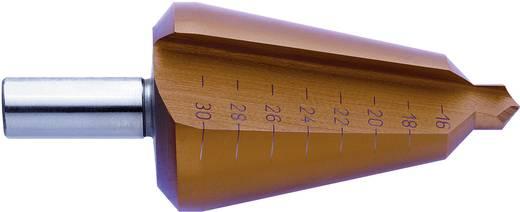 Schälbohrer 16 - 30.5 mm HSS Exact 50103 TiN 3-Flächenschaft 1 St.