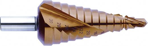 HSS Stufenbohrer 4 - 12 mm TiN Exact 07011 3-Flächenschaft 1 St.