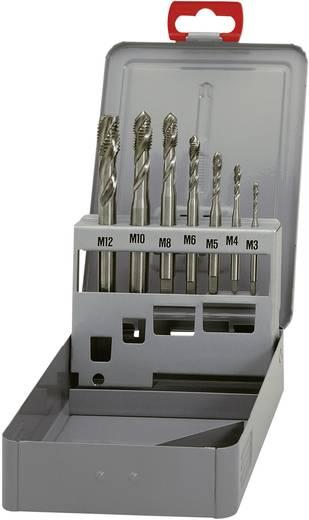 Eventus 10366 Maschinengewindebohrer-Set 7teilig metrisch Rechtsschneidend DIN 371 HSS 35° RSP 1 Set