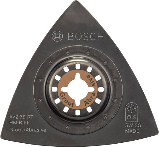 Hartmetall Schleifplatte 78 mm Bosch Accessories AVZ 78 RT 2609256953 1 St.