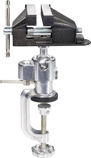 Schraubstock Basetech Backenbreite: 73 mm Spann-Weite (max.): 55 mm