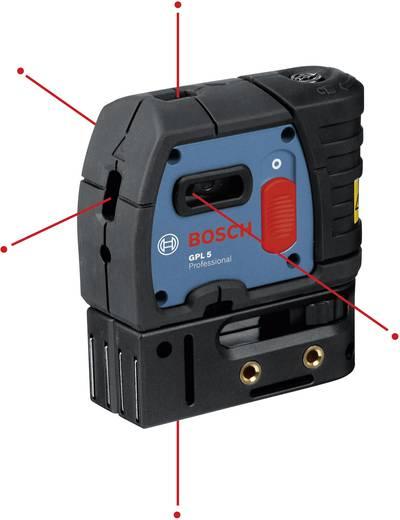 Punktlaser selbstnivellierend Bosch Professional GPL 5 Reichweite (max.): 30 m Kalibriert nach: ISO