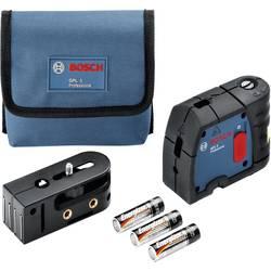 Bodový laser samonivelačná Bosch Professional GPL 3, dosah (max.): 30 m, kalibrácia podľa: bez certifikátu