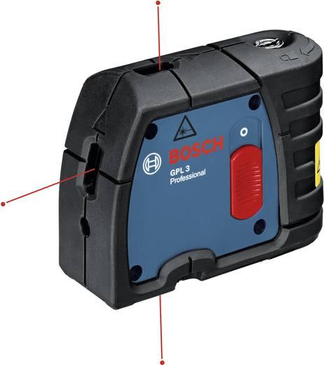 Punktlaser selbstnivellierend Bosch Professional GPL 3 Reichweite (max.): 30 m Kalibriert nach: Werksstandard (ohne Zer