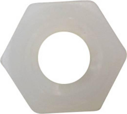 Sechskantmuttern M3 Kunststoff 10 St. TOOLCRAFT 815969