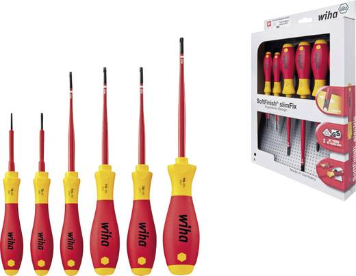 VDE Schraubendreher-Set 6teilig Wiha SoftFinish electric 3251 K6 Innen-TORX
