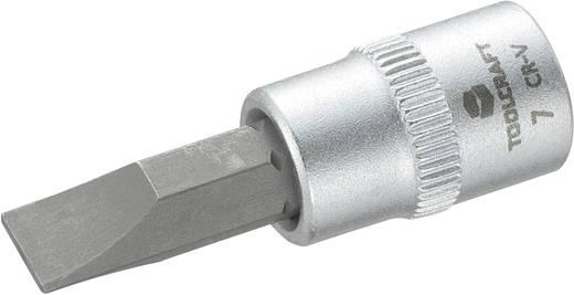 """Schlitz Steckschlüssel-Bit-Einsatz 7 mm 1/4"""" (6.3 mm) TOOLCRAFT 816067"""