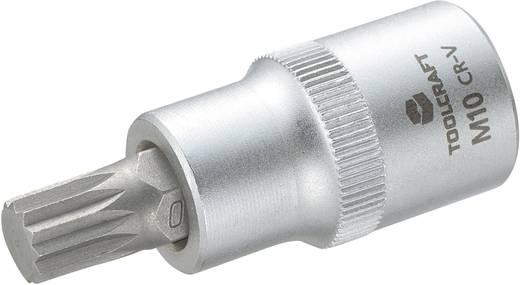 """Innen-Vielzahn (XZN) Steckschlüssel-Bit-Einsatz 10 mm 1/2"""" (12.5 mm) TOOLCRAFT 816088"""