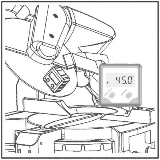 Digitaler Winkelmesser TOOLCRAFT 816141 180 ° Werksstandard