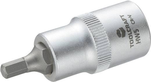 """Innen-Sechskant Steckschlüssel-Bit-Einsatz 5 mm 1/2"""" (12.5 mm) TOOLCRAFT 816154"""