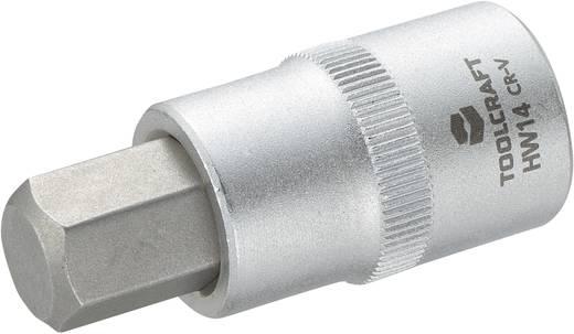 """TOOLCRAFT 816161 Innen-Sechskant Steckschlüssel-Bit-Einsatz 14 mm 1/2"""" (12.5 mm)"""