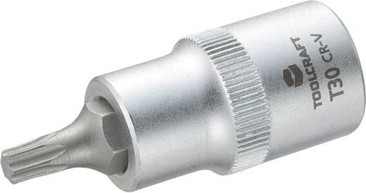 """Innen-TORX Steckschlüssel-Bit-Einsatz T 30 1/2"""" (12.5 mm) Produktabmessung, Länge 55 mm TOOLCRAFT 816165"""