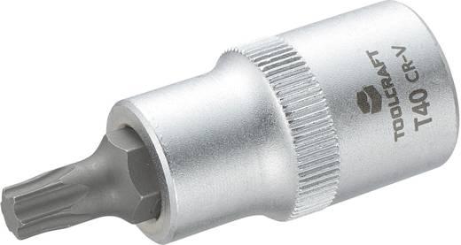 """TOOLCRAFT 816166 Innen-TORX Steckschlüssel-Bit-Einsatz T 40 1/2"""" (12.5 mm)"""