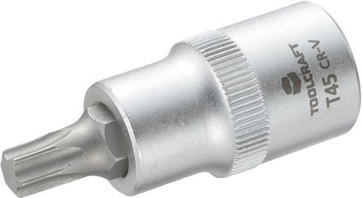 """Innen-TORX Steckschlüssel-Bit-Einsatz T 45 1/2"""" (12.5 mm) Produktabmessung, Länge 55 mm TOOLCRAFT 816167"""