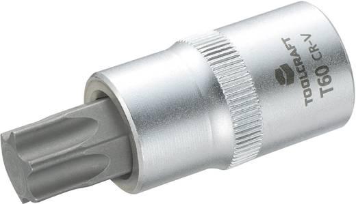 """Innen-TORX Steckschlüssel-Bit-Einsatz T 60 1/2"""" (12.5 mm) Produktabmessung, Länge 55 mm TOOLCRAFT 816170"""