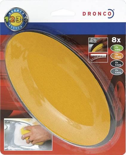 Dronco Nachfüllpack Oval-Schleifer Auto 6780250 Passend für Oval-Schleifer 152 x 77 mm