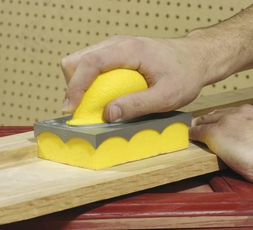Dronco Schleifschwamm-Set 6780290 für Holz, Metall, Kunststoff, Fiberglas, lackierte Flächen, Gipskarton und vieles mehr