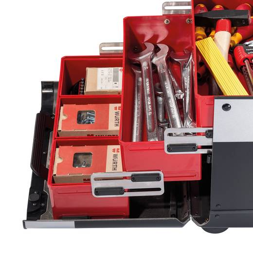 Universal Werkzeugkoffer unbestückt Parat EVOLUTION 2.012.520.981 (B x H x T) 470 x 420 x 310 mm