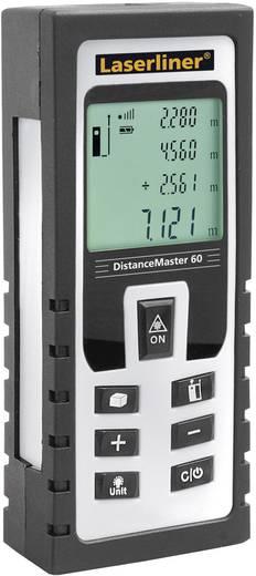 """Laserliner DistanceMaster 60 Laser-Entfernungsmesser Kalibriert nach ISO Stativadapter 6.3 mm (1/4"""") Messbereich (max.)"""