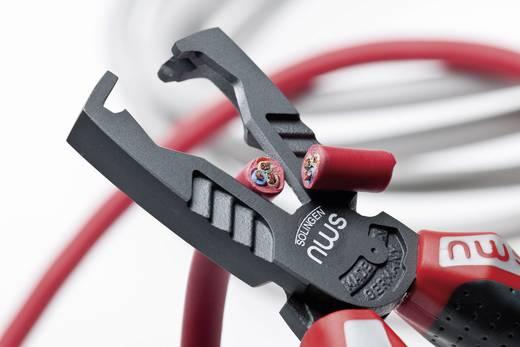 VDE-Abisolierzange Geeignet für Leiter mit Standard-Isolation 10 mm² (max) 8 bis 13 mm NWS Multicutter 3 in 1 1451-69-VDE-180