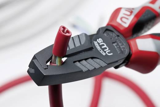 VDE-Abisolierzange Geeignet für Leiter mit Standard-Isolation 10 mm² (max) 8 bis 13 mm NWS 1451-69-VDE-180