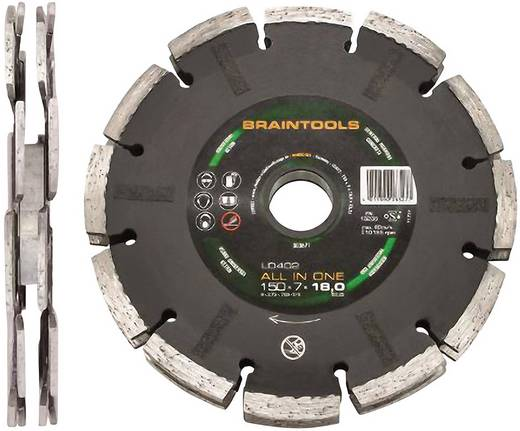 ALL IN ONE Diamanttrennschreibe LD402 150 x 7 x 18 x 22,23 mm Rhodius 303671 Durchmesser 150 mm Innen-Ø 22.23 mm 1 St.