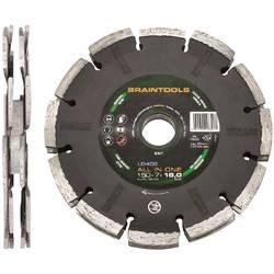 Diamantový rezací kotúč ALL IN ONE LD402 125 x 7 x 18 x 22,23 mm Rhodius 303670, Ø 125 mm, vnútorný Ø 22.23 mm, 1 ks