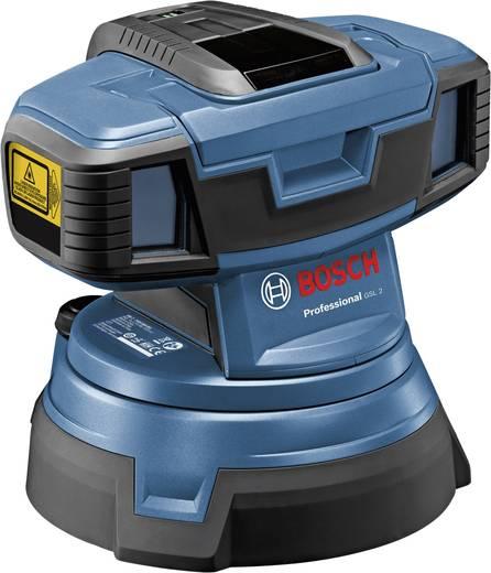 Bodenlinienlaser Bosch Professional GSL 2 Reichweite (max.): 20 m Kalibriert nach: Werksstandard (ohne Zertifikat)