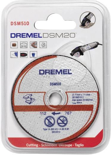 3er Metall-Trennscheibe DSM 510 Dremel 2615S510JA Durchmesser 77 mm 3 St.