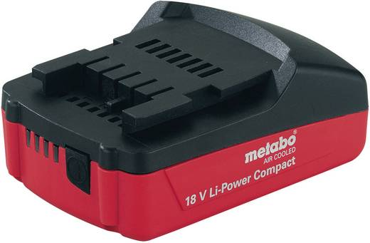 Werkzeug-Akku Metabo 18 V Li-Power Compact 625596000 18 V 2 Ah Li-Ion