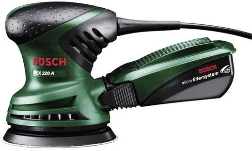 Exzenterschleifer 220 W Bosch Home and Garden PEX 220 A 0603378000 Ø 125 mm