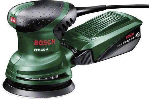 Exzenterschleifer 220 W Bosch PEX 220 A 0603378000 Ø 125 mm