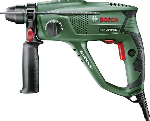 Bosch Home and Garden PBH 2500 RE SDS-Plus-Bohrhammer 600 W inkl. Koffer