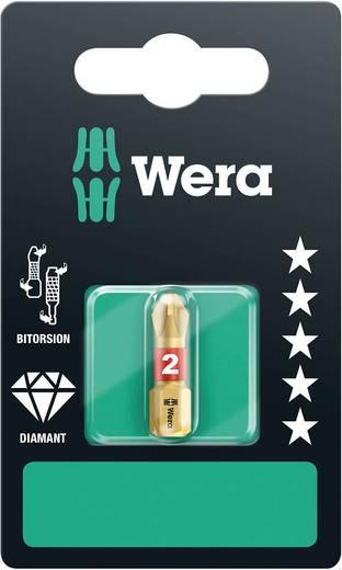 Kreuzschlitz-Bit PH 1 Wera 851/1 BDC SB SiS Werkzeugstahl diamantbeschichtet, legiert D 6.3 1 St.