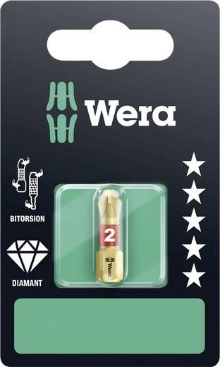 Kreuzschlitz-Bit PH 2 Wera 851/1 BDC SB SiS Werkzeugstahl diamantbeschichtet, legiert D 6.3 1 St.