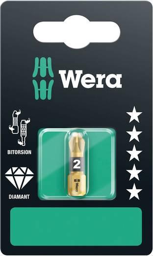Kreuzschlitz-Bit PZ 1 Wera 855/1 BDC A SB Werkzeugstahl diamantbeschichtet D 6.3 1 St.